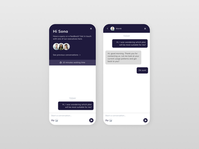 Daily UI Day 28 - Contact us ui design dailyui