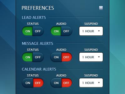 Connect App - Preferences Panel 2
