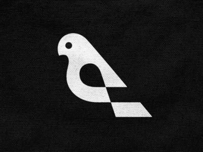Nestia! negative space pigeon dove swallow wings for sale bird animal illustration abstract monochrome geometric logodesign logo design symbol branding brand icon mark logo