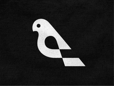 Nestia! negative space pigeon dove swallow wings for sale bird animal illustration abstract monochrome geometric logodesign logo design symbol branding brand icon mark logo