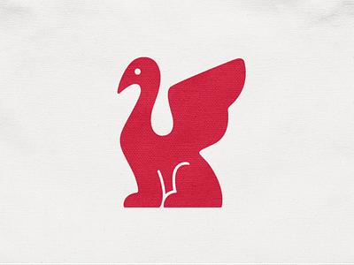 Griffino! wings bird sphynx mythology mythical griffin animal illustration monochrome logodesign logo design symbol branding brand icon mark logo
