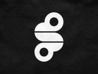 S mark! type letter s heart monkey rabbit animal monogram abstract monochrome geometric logodesign logo design symbol branding brand icon mark logo