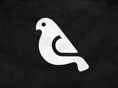 Dove mark! peace nest pigeon dove negative space wings bird animal monochrome logodesign logo design symbol branding brand icon mark logo