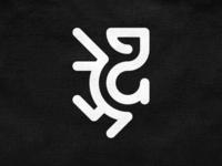 Minimal heraldic symbol! car hound dog animal luxury griffin lion heraldic heraldy abstract monochrome geometric logodesign logo design symbol branding brand icon mark logo