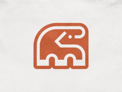 M + Bull mark! monoline type letter m cow bull animal geometric logodesign logo design symbol branding brand icon mark logo