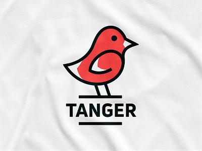 Tanger! hummingbird birds animal tanger nest tanager wings bird illustration logodesign logo design symbol branding brand icon mark logo