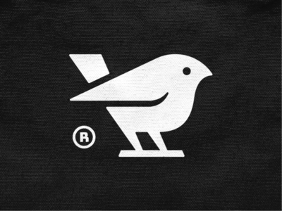 Twetty! brand identity logos abstract tweet negative space nest wings bird monochrome geometric logodesign logo design symbol branding brand icon mark logo