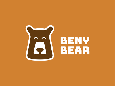 Beany Bear! logos brand identity mascot playful koala jungle panda bear illustration logodesign logo design symbol branding brand icon mark logo