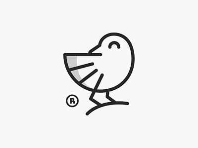 Koko! brand identity stroke logos playful nest minimal monoline wings bird illustration monochrome geometric logodesign logo design symbol branding brand icon mark logo
