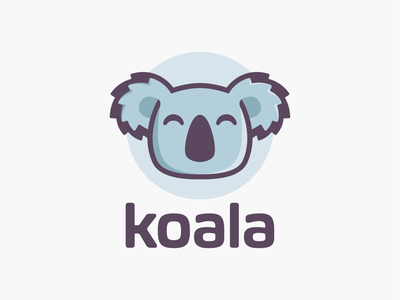 Koala Bear! business visual identity brand identity asia bamboo mascot cute koala bear panda animal illustration logodesign logo design symbol icon branding brand mark logo