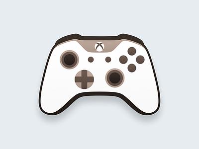 XBOX Controller! xbox360 xboxone gaming game figma controller joystick flat icons xbox illustration geometric logodesign logo design symbol branding mark brand logo icon