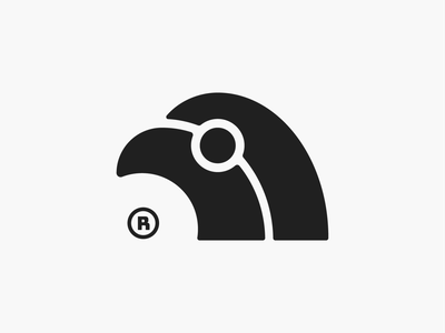Bird mark! minimal tweet eagle falcon wings nest wing feather bird illustration monochrome geometric logodesign logo design symbol branding mark brand logo icon