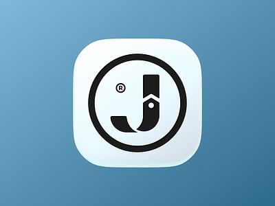 Jaoualia icon! monogram clothing fashion belt type letter j app ios design logo design symbol branding mark brand icon logo