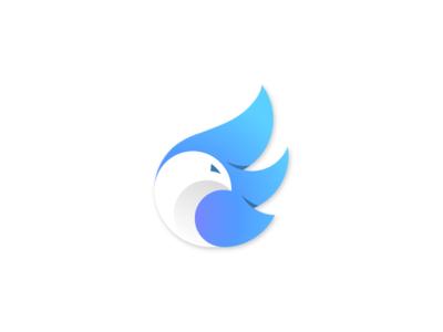 Neon bird ! bird logo bird dove animal character symbol icon mark branding brand logodesign logo