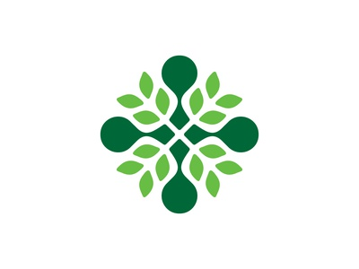 Bio ( Rebound ) for sale corn wheat bio leaf rose logo icon mark branding brand symbol logodesign logo design geometric abstract monochrome flower