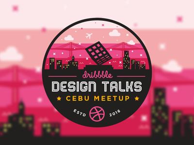 Dribbble Design Talks : Cebu Meetup 2016 vector illustration cebu dribbble meetup