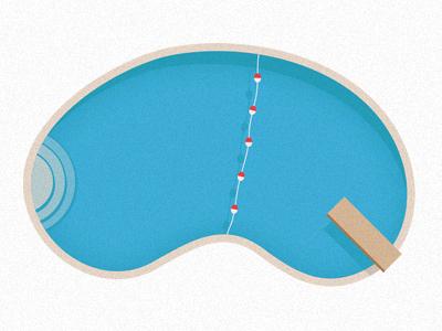 Pool dribbble