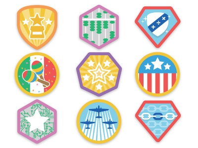 Dribbbz badges