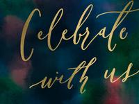 celebrate type