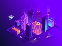 Smart isometric city