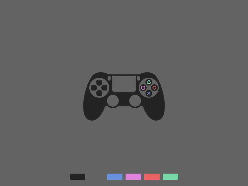 Playstation Controller icon sketch controller ps4