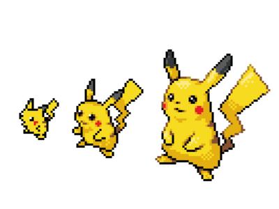 PixelPikachu pikachu pixelart pixel