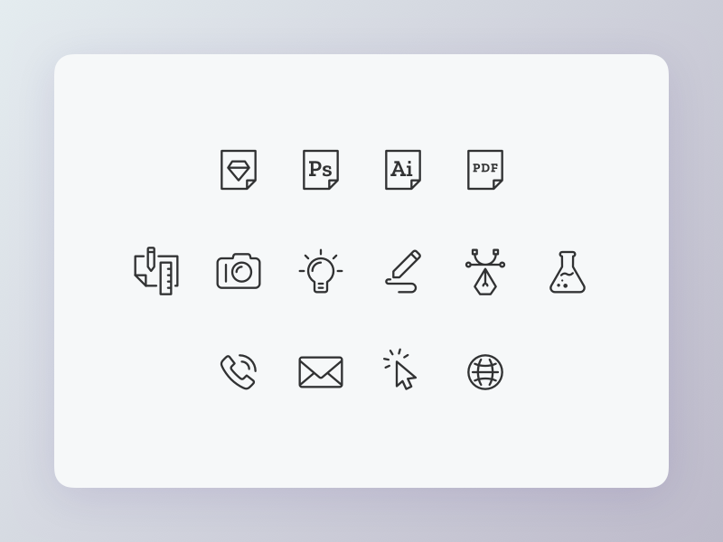 Icons icons set icons