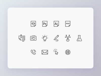 Icons icons set icons