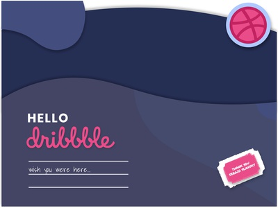 Lovely Night for a Hello Dribbble