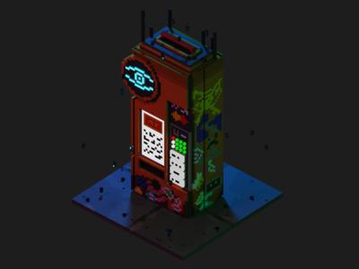 Cyberpunk Vending Machine | seppeku_doge