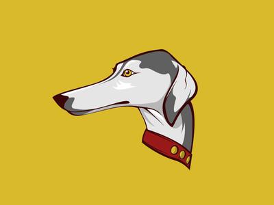 Greyhound greyhound dog design vector illustrator illustration