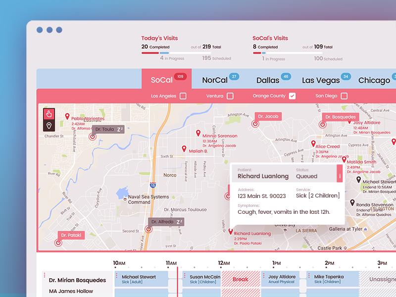 Operations Management Dashboard v1