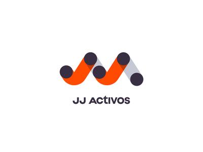 JJActivos — logo finance brand logotype logo