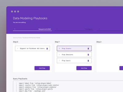 Web Panel — Sneak Peek console deploy code admin web panel saas