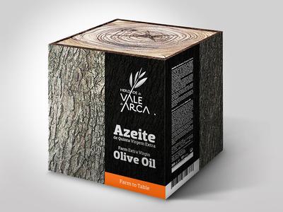 Herdade de Vale de Arca - Extra Virgin Olive Oil Packaging