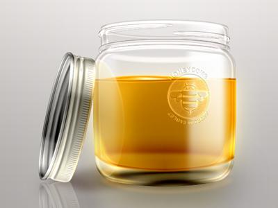 Honey Improvement honey yellow icon photoshop sweets bottle