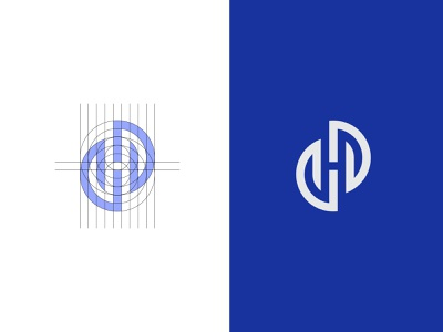HS LOGO lettermark brand logo-design icon identity minimal-logo logodesign design branding logo shlogo