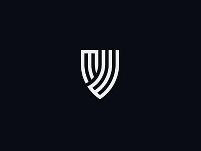 MW LOGO brand design brand identity brand vector lettermark illustration identity minimal-logo logodesign design branding logo security logo shield logo