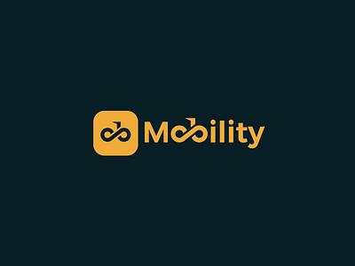 Mobility Startup Logo rider logo startup logo app logo logotype vector ride sharing app logo logo-design icon identity minimal-logo logodesign design branding logo