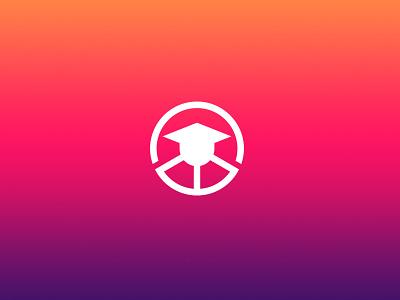 DRIVING SCHOOL LOGO drivinglogo drivinglogo print brand icon vector illustration identity minimal-logo logodesign branding logo