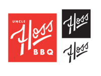 Uncle Hoss BBQ // Logotype