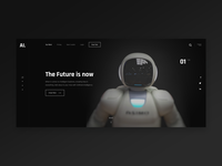 Artifial Intelligence product landing page exploration