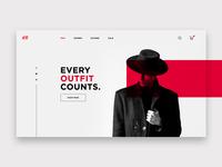 H&M Landing Page Concept