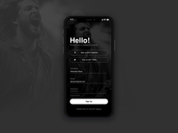 Daily UI - 001 Sign Up