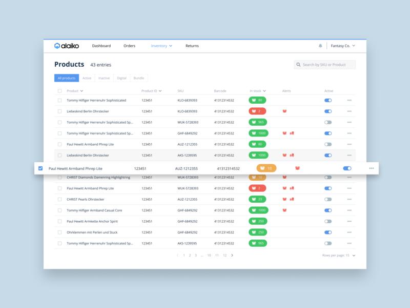 Alaiko - Web App
