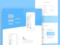 App Landingpage
