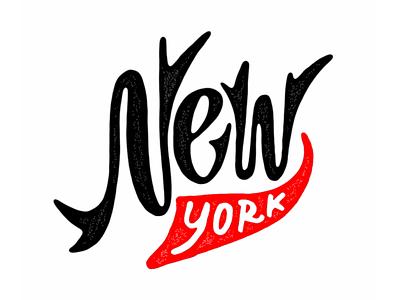 New York font branding ui icon sign calligraphy typography logotype lettering logo
