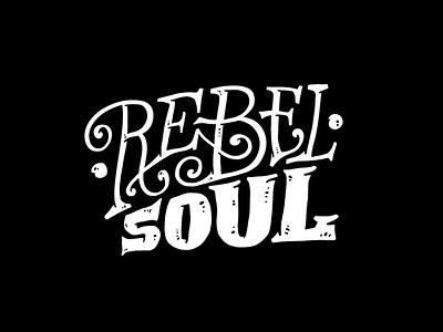 Rebel Soul retro vintage typography branding