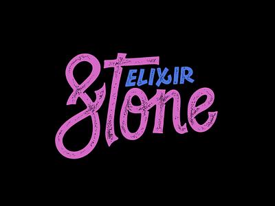 Elixir Stone branding logo