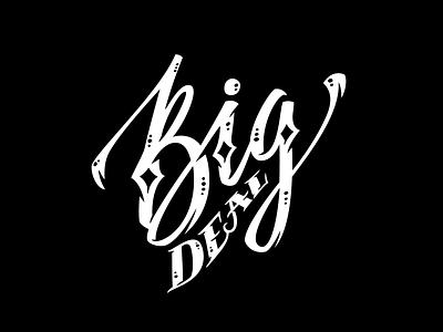 Big Deal branding logo